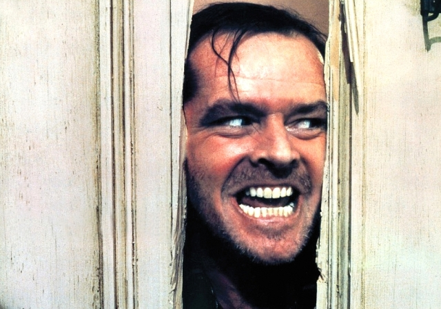 still of jack nicholson in the shining