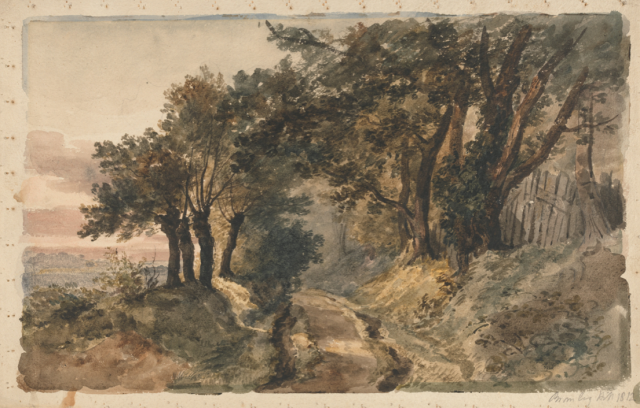 Bromley Hill by Peter DeWint (1784 - 1849).